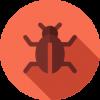 קורס QA - אייקון  חיפושית